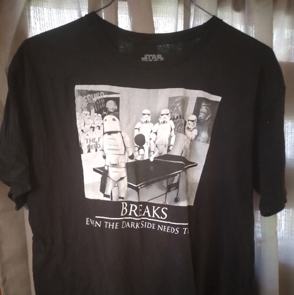 Star Wars XL graphic t-shirt w/motivational quote